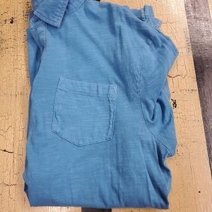 🤴👕 Sonoma Men's Size Large Blue Polo